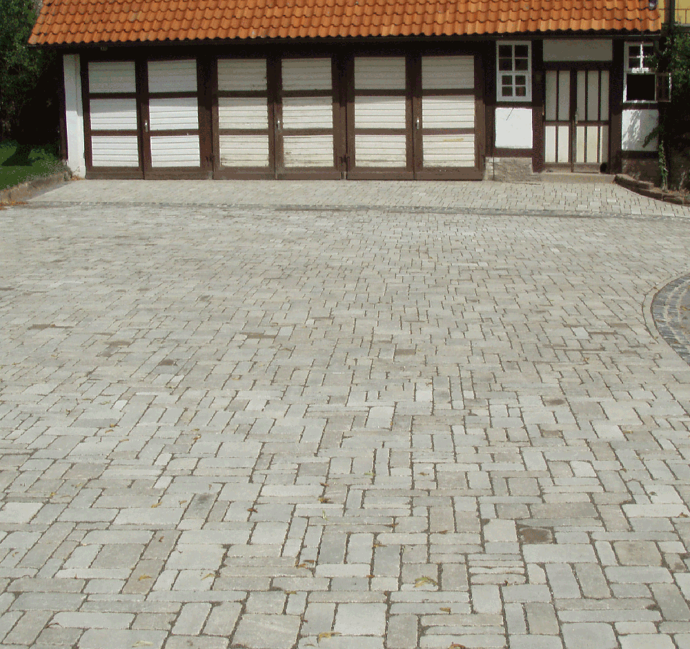 Pflaster Verlege Muster : Harzer Betonwarenwerke  Luisenburg Pflaster